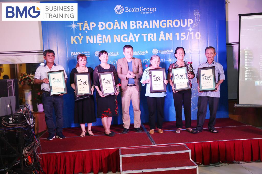 HÌNH ẢNH BRAIN GROUP TEAM BUILDING 2020: TRI ÂN CUỘC ĐỜI