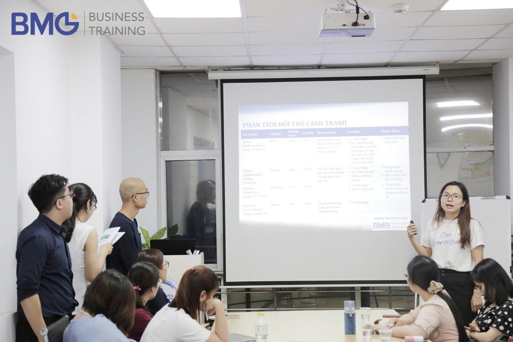 Khóa Chuyên viên Marketing Dược PMC 29 báo cáo tốt nghiệp